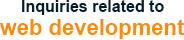 Inquiries related to web development