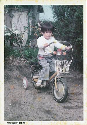 幼いころの自分